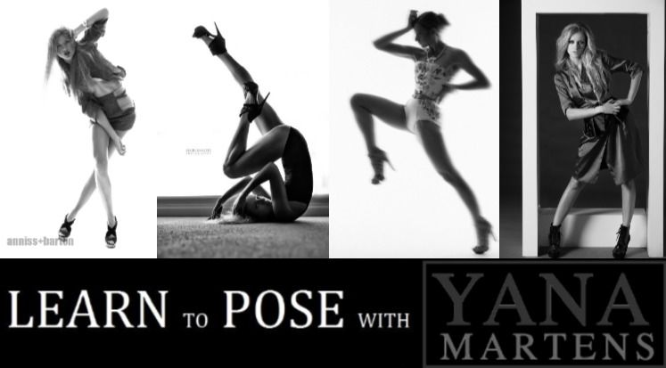 YYana Martens photography posing workshop