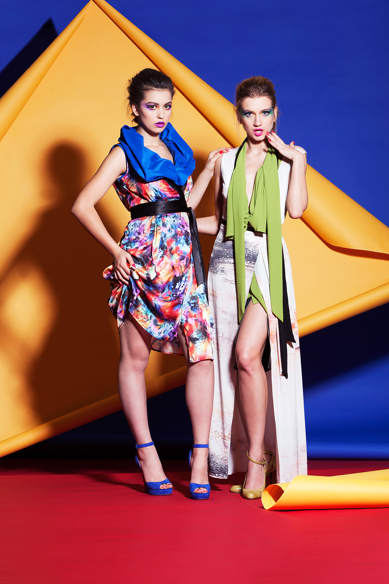 Yana Martens fashion model