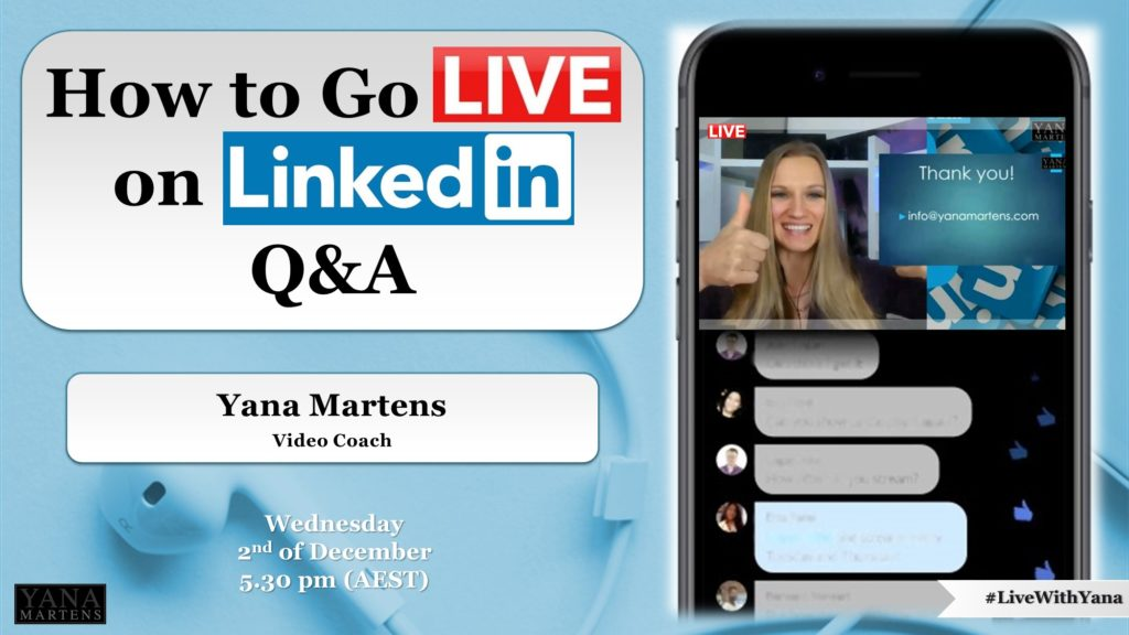 How to go Live on LinkedIn