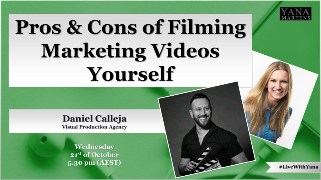 Pros and Cons of Filming Marketing Videos Yourself