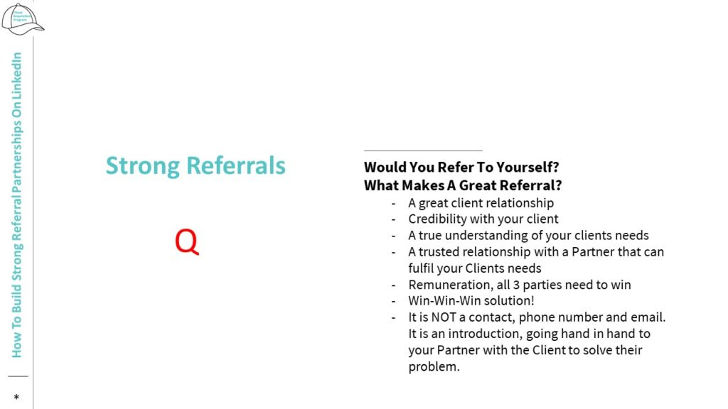 How to Build Strong Referral Partnerships on LinkedIn referrals