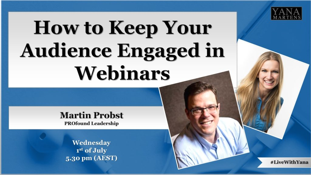 How to Keep Your Audience Engaged in Webinars